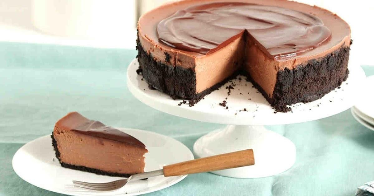 طريقة عمل تشيز كيك الشوكولاتة سريعة التحضير