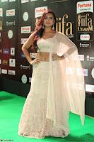 Prajna Actress in backless Cream Choli and transparent saree at IIFA Utsavam Awards 2017 0138.JPG