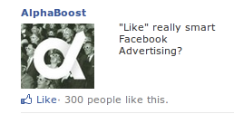 advertising for facebook fan page