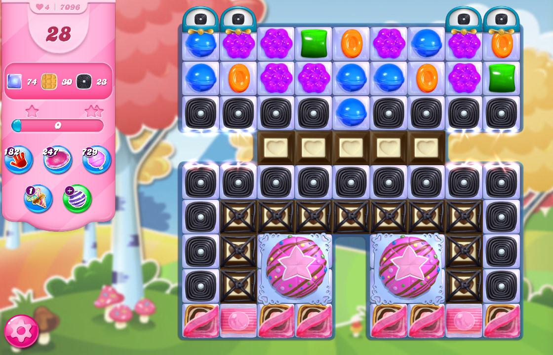 Candy Crush Saga level 7096
