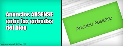 Resultado de imagen para Cómo poner Adsense en medio de las entradas del blog