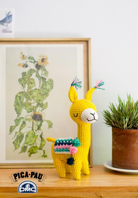 My latest fuzzy llama amigurumi : crochet | 840x588