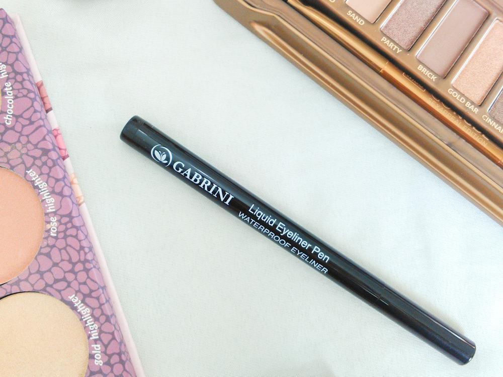 liquid eyeliner pen de la marque gabrini