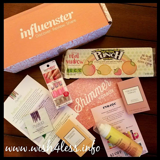 Influenster: Shimmer Voxbox Review