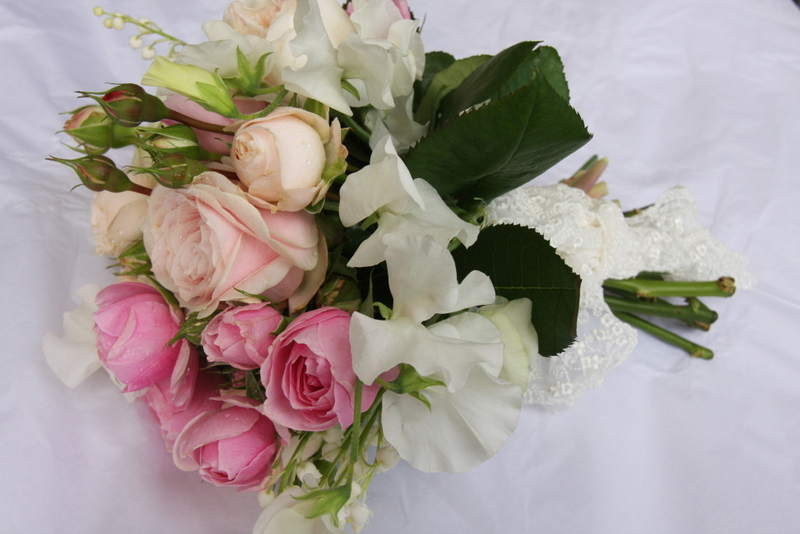 Lily Of The Valley Wedding Bouquet: The Flower Magician: Summer Bridal Bouquet Of Roses, Sweet