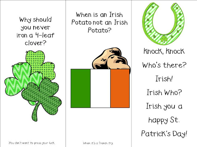 st patricks day irish jokes limericks riddles one liners short clean stories questions answers image