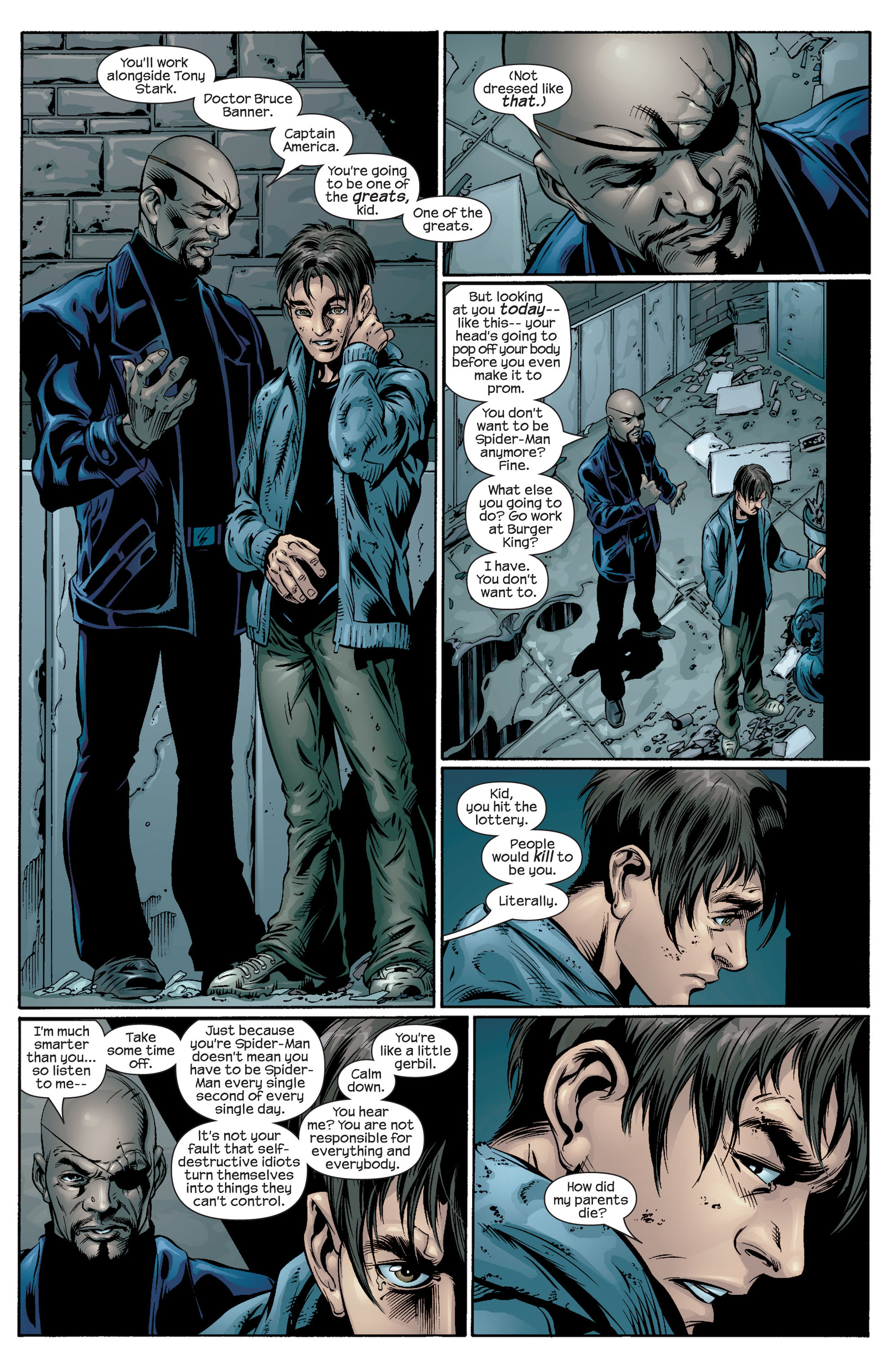 Read online Ultimate Spider-Man (2000) comic -  Issue #39 - 10