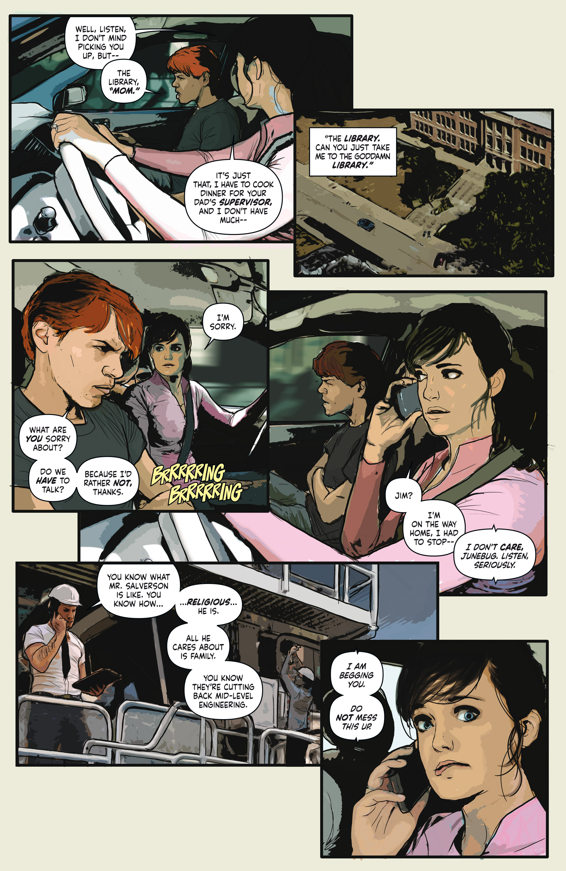 Read online Crosswind comic -  Issue #1 - 10