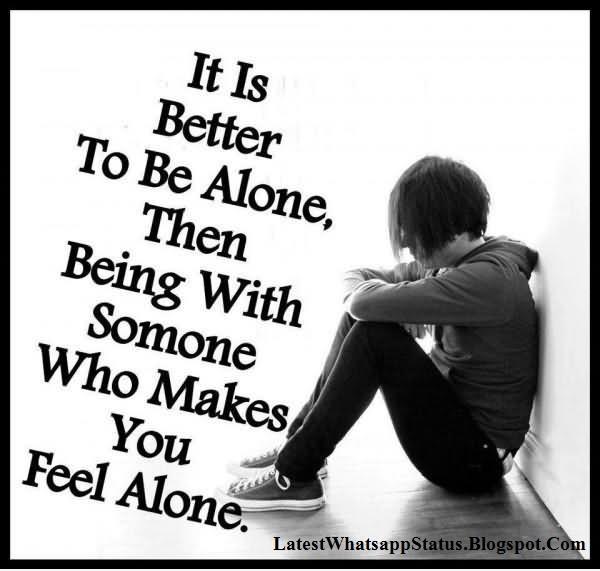Alone Sad Status Dp Pictures For Facebook Whatsapp Status