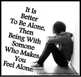 Alone Miss Someone Quotes and Updates