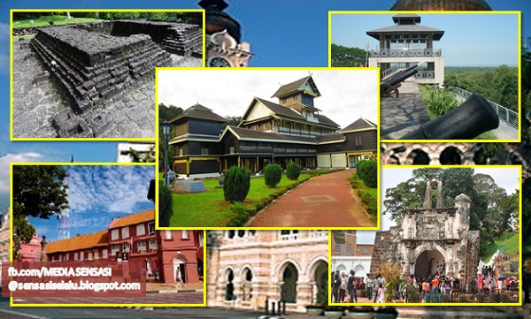 Struktur Beberapa Bangunan Dan Binaan Bersejarah Di Malaysia Media Sensasi