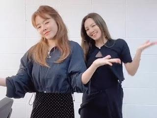 SNSD Hyoyeon Sunny Dessert Dance Challenge