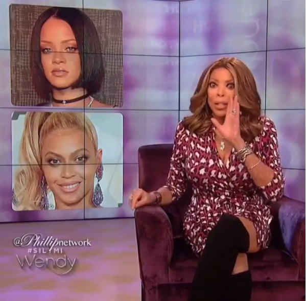 wendy williams says Rihanna is no legend