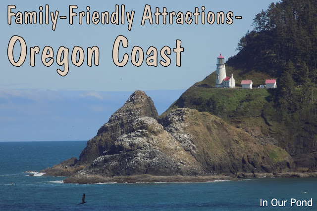 Family Friendly Attractions on the Oregon Coast  #roadtrip #kids #vacation