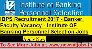 IBPS-Recruitment-banker-faculty-Vacancy