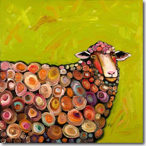 The Lost Sock Spiral Sheep