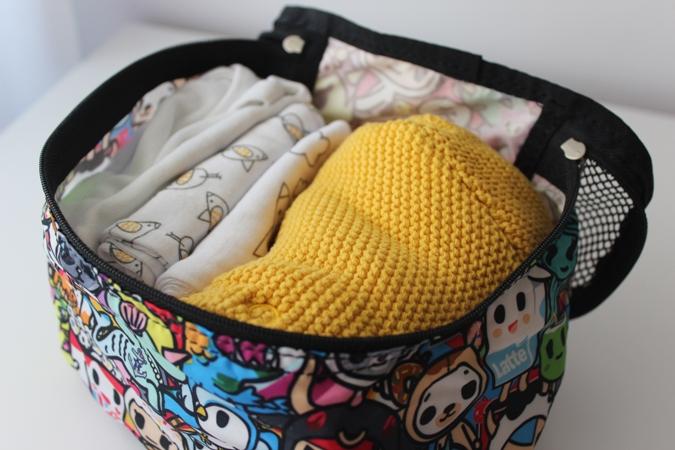 Qué meter en la bolsa del hospital para el bebé