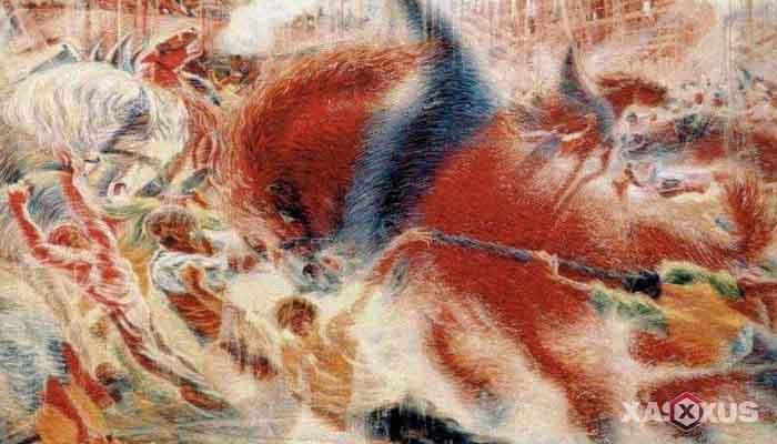 Contoh Aliran Seni Rupa atau Seni Lukis Futurisme