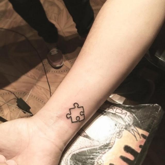 tatuagem minimalista