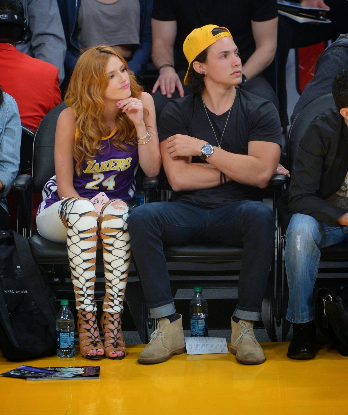 Hot Celebrity's: Bella Thorne and Ryan Nassif Kissing at ...