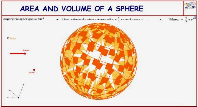 relationship between radius and volume of a sphere