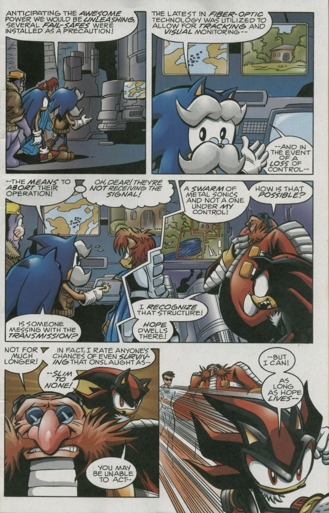 Read online Sonic The Hedgehog comic -  Issue #158 - 17