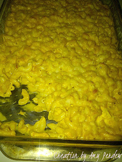 Easy Peezy Baked Mac N Cheese..Creation by Amy Perdew