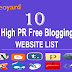 Top 10 Free Blogging websites to Generate traffic