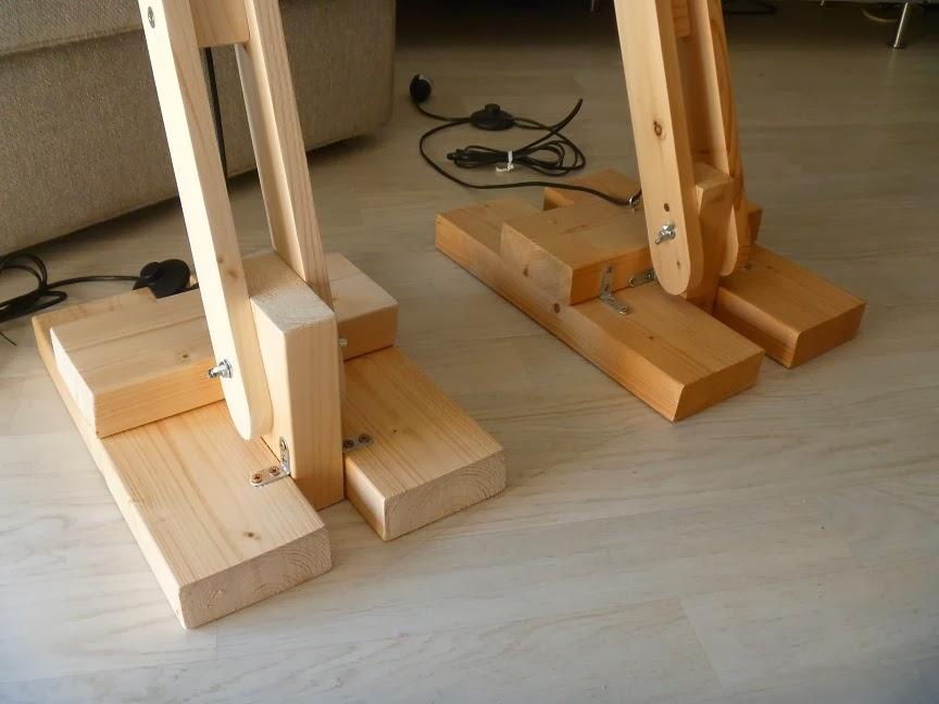 la menuiserie 503 les lampes d 39 architecte en bois. Black Bedroom Furniture Sets. Home Design Ideas