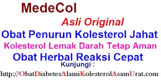 Jual obat penurun kolesterol alami MADECOL full herbal tradisional