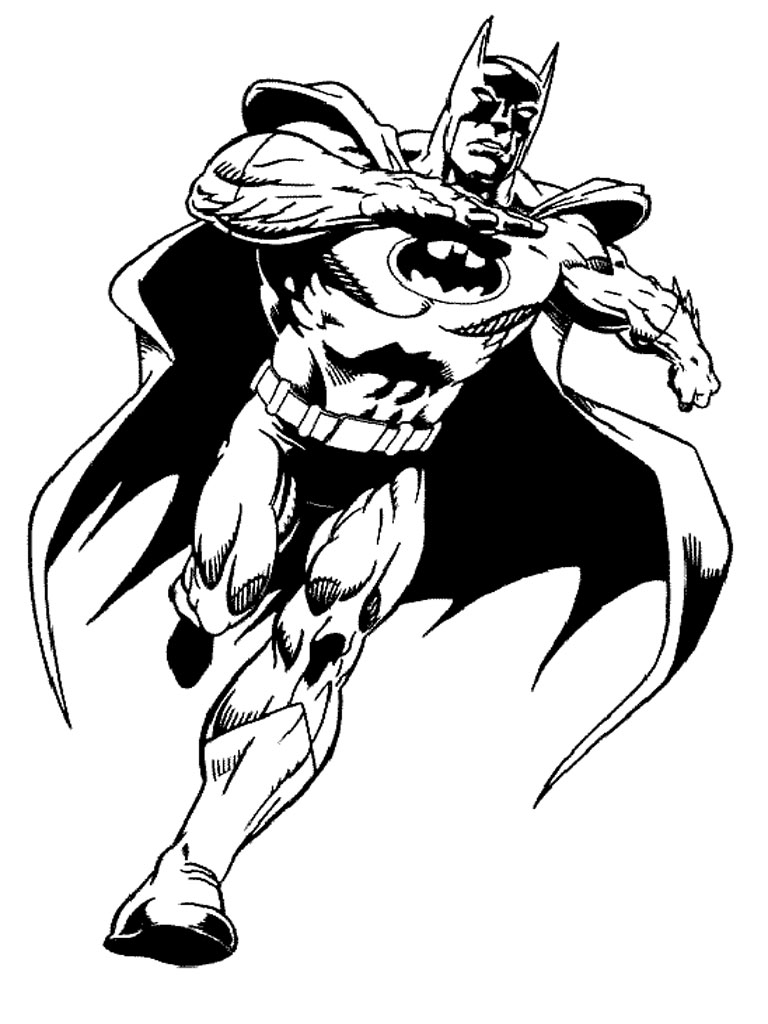 Batman Coloring Pages Printable