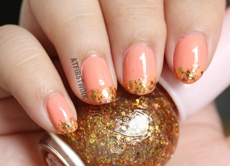kingsday 2016 nails Etude House gold glitter nail polish if story nail kit 2