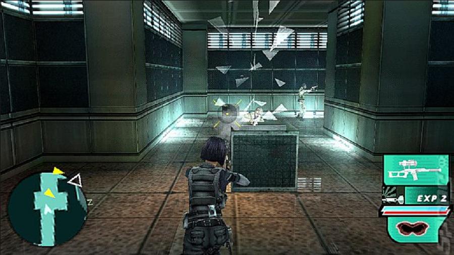 Daftar Kumpulan Game 3D FPS Tembak Tembakan Di PSP PPSSPP (Gameplay) : Syphon Filter: Dark Mirror
