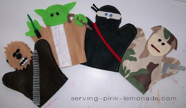 Serving Pink Lemonade 11 Felt Crafts To Make For Kids