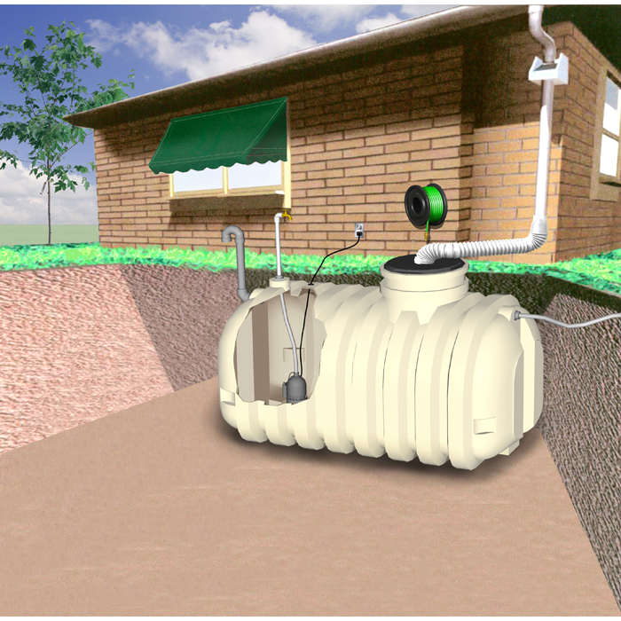 Water System And Water Tanks Choose Undergorund And