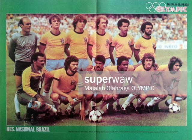 Brasil Brazil 1982 National Team
