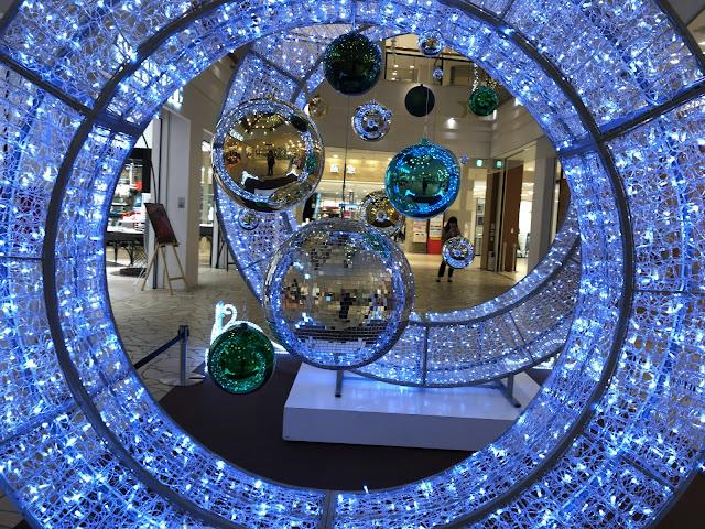 サンタからプレゼント!今年もクリスマスのライトアップが横浜・センター北でスタート
