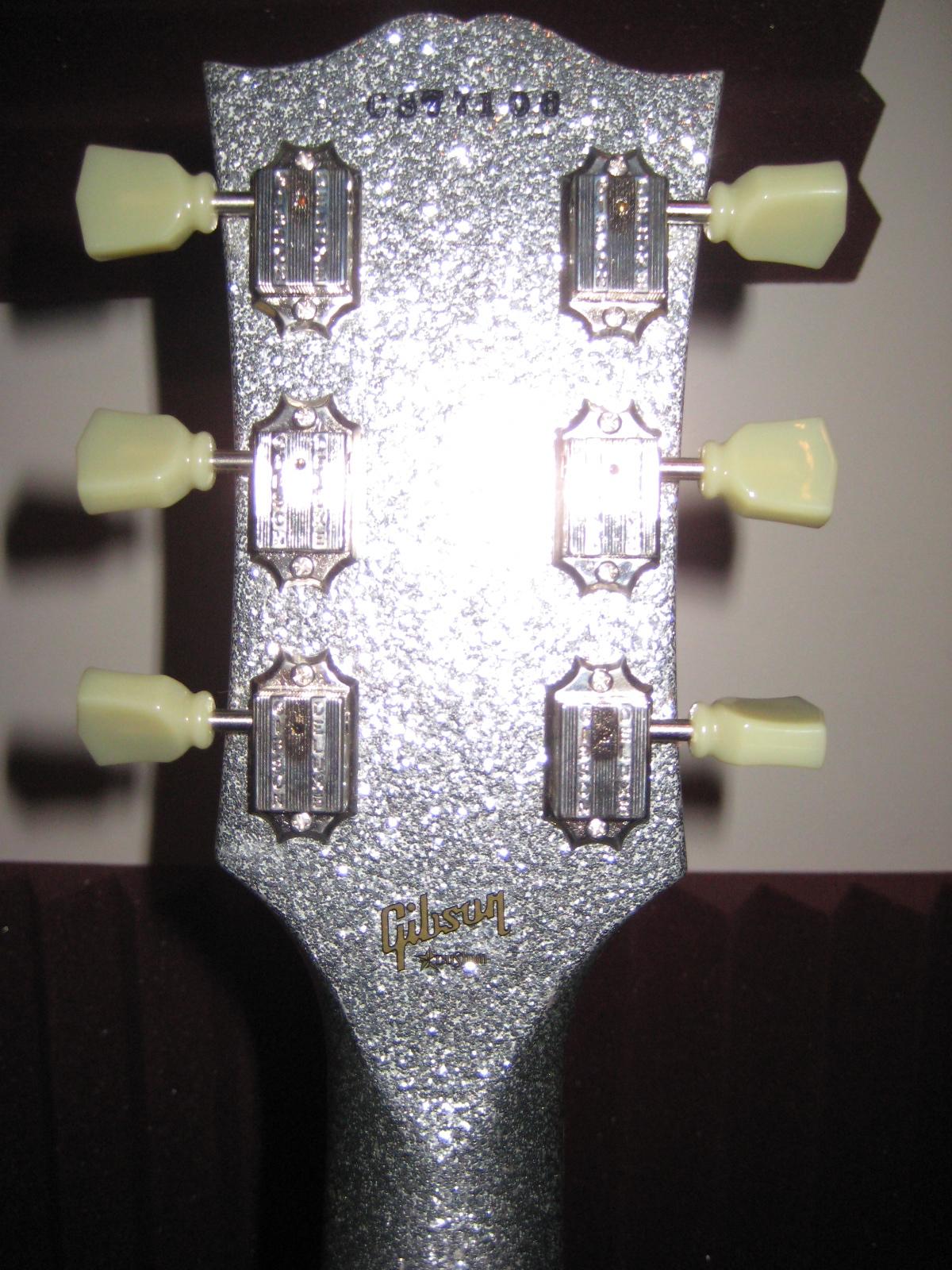 guitar eureka post 661 ebay price guide gibson sg custom shop silver sparkle excellent cond. Black Bedroom Furniture Sets. Home Design Ideas