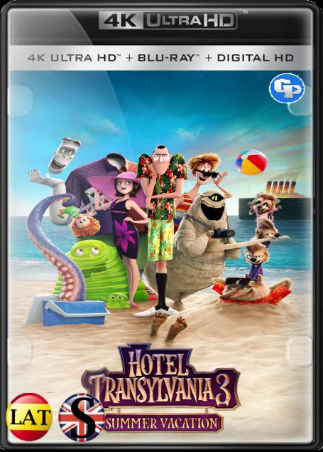 Hotel Transilvania 3: Unas Vacaciones Monstruosas (2018) 4K UHD LATINO/INGLES