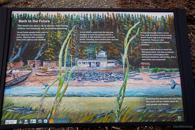 Bowman Bay Interpretive Sign