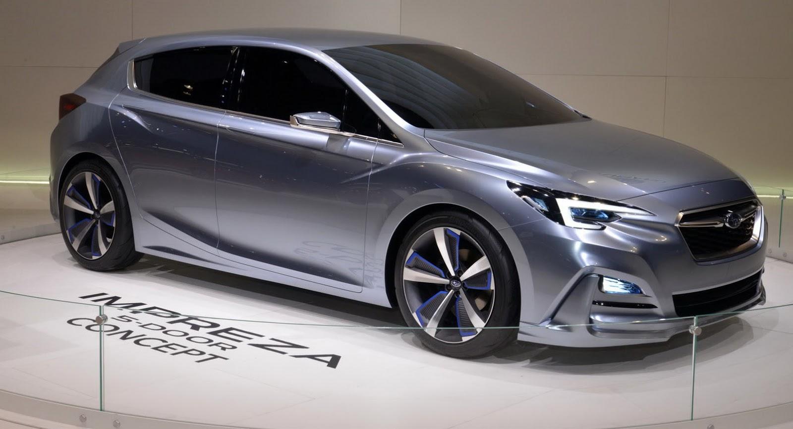 Moment Of Truth: 2017 Subaru Impreza Production Vs Concept ...