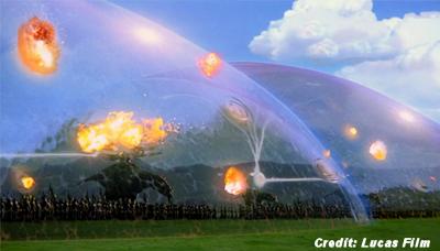 'Star Wars' Style Force Field