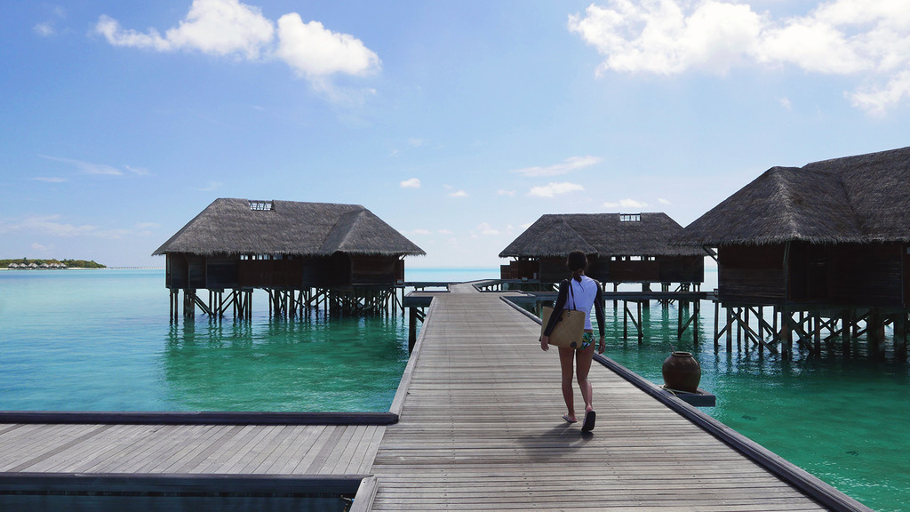 Euriental | fashion & luxury travel | overwater villa at Conrad Maldives Rangali Island