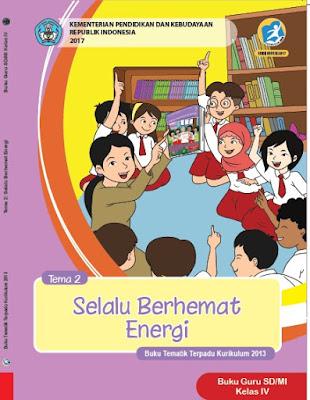 Buku Guru Kelas 4 Kurikulum 2013 Revisi 2017 Semester 1 Tema 2 Selalu Berhemat Energi