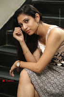 Actress Vanditha Stills in Short Dress at Kesava Movie Success Meet .COM 0249.JPG
