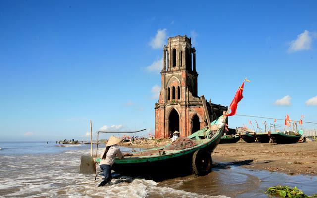 Nhà thờ đổ Hải Lý - Nam Định