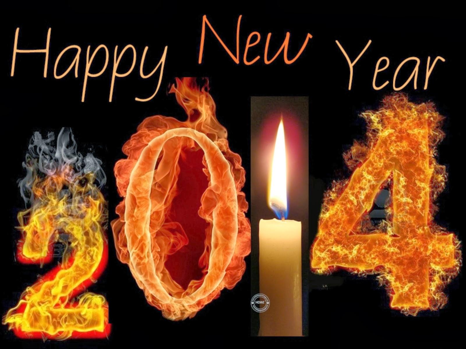 GAMBAR UCAPAN SELAMAT TAHUN BARU 2014 SMS BBM Kartu Tahun Baru