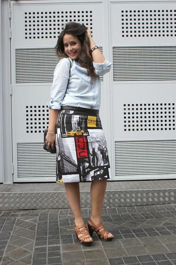 Como hacer falda tubo costura diy