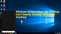 How to Fix Windows 10 Start Menu Not Working Can't Search Cortana Can't Open Anything,windows 10 start menu not working,can't search,windows 10 search not working,can not open app,can not search anything,how to fix windows 10 search not working,cortana search not wroking,how to fix search issue,not searching,not search app,fix search issue,start menu not working,windows 10 search issue,how to fix,how to slove,app not open