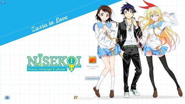 Nisekoi Theme Win 7 by Bashkara